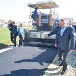 Gradonačelnik Đaković u obilasku radova na asfaltiranju na Pećanima