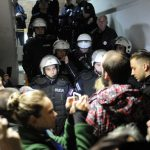 Privedeno 18 osoba, troje zadržano zbog nasilnog ponašanja u RTS-u