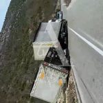 Jak vjetar stvara probleme: Kamioni se prevrću kao igračke VIDEO