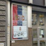 Grafit tzv. OVK na zgradi Konzulata Srbije u Austriji