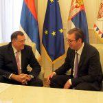 Dodik: Najbolja i najkonkretnija saradnja Srpske i Srbije u posljednjih nekoliko godina