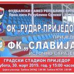 Jelić Mario sudi utakmicu Rudar Prijedor- Slavija