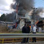 Lokalizovan požar u fabrici namještaja (FOTO/VIDEO)