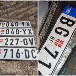 """Djeca oštetila srpske tablice u Dubrovniku, jer su im očevi rekli da su to """"zločesti auti"""""""