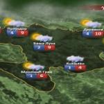 U utorak kiša u nižim i snijeg u višim predjelima (VIDEO)