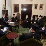 Državni vrh Srbije s patrijarhom: Srpski narod nećemo ostaviti na cijedilu (FOTO)