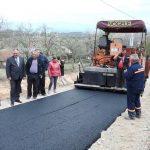 Novi asfalt na području sela Srednja i Gornja Marićka