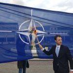Milačić u policiji zbog paljenja zastave NATO-a