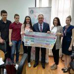 Grad Prijedor podržao projekat Omladinske banke (FOTO i VIDEO)