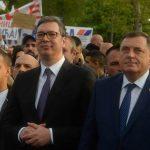 """DODIK NA MITINGU SNS U BEOGRADU """"Srpskoj je važna snažna Srbija"""""""