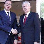 Sastali se Vučić i Čović (FOTO i VIDEO))
