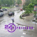 U ponedjeljak kiša, popodne pljuskovi i grmljavina (VIDEO)