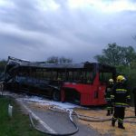Kuršumlija: Sudar autobusa i kamiona, četvoro poginulih (FOTO/VIDEO)