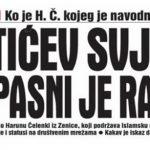 Avaz: Opasni selefija iz Zenice Mektićev ključni svjedok