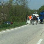 TEŠKA SAOBRAĆAJNA NESREĆA KOD DOBOJA U sudaru kamiona i automobila jedna osoba povrijeđena