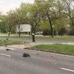 STRAŠNA NESREĆA Nekoliko osoba leži na travi, jednu IZVLAČE IZ AUTOMOBILA (VIDEO)