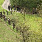 SPECIJALCI U AKCIJI Duge cijevi i psi u potrazi za ubicom Slaviše Krunića (VIDEO)