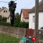 MOTOR ODLETIO NA STRUJNE KABLOVE Mladić (22) stradao u udesu, na licu mjesta JEZIVI PRIZORI (FOTO)