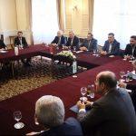 Održan sastanak lidera SNSD-a, SDA i HDZ-a (FOTO i VIDEO)