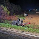 Stravična nesreća kod Prijedora, poginuo 27-godišnjak, dijelovi BMW rasuti po cesti