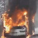 Autobus se zapalio na putu, srećom nije bilo povrijeđenih VIDEO