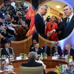 SAMIT U SIJENCI DVOGLAVOG ORLA Hladno rukovanje Vučića i Tačija izazvalo pažnju, ALBANCI POTENCIRAJU NA UJEDINJENJU (FOTO)