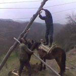 Kada crnogorskog radnika distribucije nema na vidiku, i konj može da posluži (FOTO)