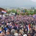 Komemoracija ustašama u Blajburgu uz dva protesta (FOTO)