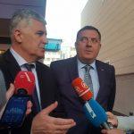 """""""HITNO FORMIRATI VLAST NA NIVOU BiH"""" Sastanak lidera SNSD I HDZ održan u Mostaru"""