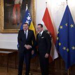 Dodik sa Štraheom u Beču (FOTO i VIDEO)