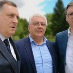 O situaciji u regionu: Dodik i Vučić razgovarali sa Andrijom Mandićem