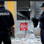 Eksplozija na pijaci u Zagrebu (VIDEO)
