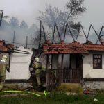 U Malom Palančištu izgorjela stara kuća