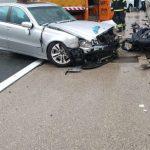 U lančanom sudaru između Maslenice i Svetog Roka poginuo motociklista