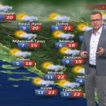 U petak pretežno oblačno i nestabilno (VIDEO)