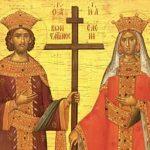 SPC PROSLAVLJA CARA KONSTANTINA I CARICU JELENU Ovaj rimski car dao je slobodu vjere i okončao progon