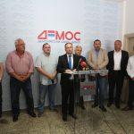 """""""OVO ĆE BITI STRANKA KOMPROMISA"""" Balaban, Šibarević i Jaćimović prešli u DEMOS (FOTO)"""