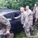 PREVRNULI SE NA KROV Brzom intervencijom pripadnika Oružanih snaga BiH spaseni državljani Crne Gore