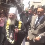 Patrijarh Irinej nepovrijeđen u Siriji (VIDEO)