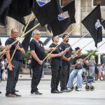 Obučeni u crno, sa ustaškim simbolima, paradirali centrom Zagreba