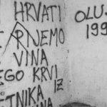 Grafit koji veliča ubistvo Srba osvanuo kod Knina