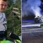 STRAVIČNA NESREĆA Motocikl se zabio u automobil i IZGORIO, vozač na mjestu ostao MRTAV
