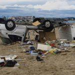 """Prizori """"biblijskih razaranja"""" na Halkidikiju (FOTO/VIDEO)"""