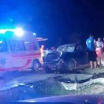 SUDAR DVA VOZILA Tri osobe povrijeđene u saobraćajnoj nesreći kod Lukavca