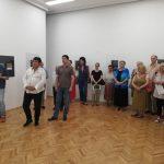 Prijedor: Otvorena izložba grafika Nikole Radosavljevića