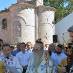 Osveštana crkva u Baru, odlikovan Banjalučanin (FOTO)
