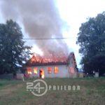 Identifikovana lica koja su podmetnula požar u Društvenom domu u Slabinji