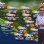 U ponedjeljak oblačno, povremeno sa kišom i pljuskovima (VIDEO)