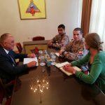Gradonačelnik razgovarao sa novim članovima LOT tima EUFOR-a
