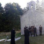 Policija zabranila sveštenicima ulazak u Crkvu na Ivanovim koritima
